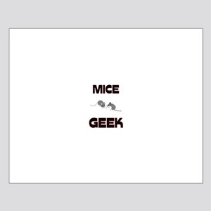 Mice Geek Small Poster