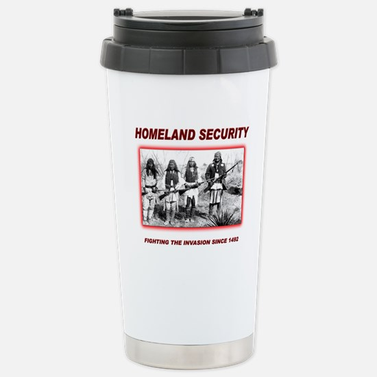 Homeland Security Native Stainless Steel Travel Mu