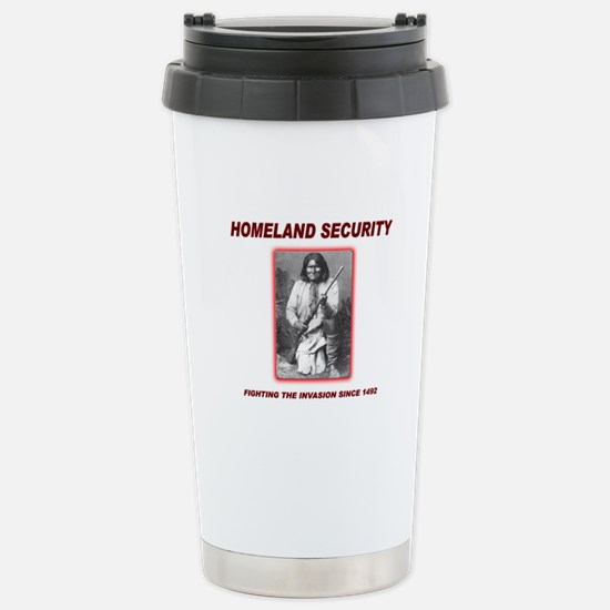 Homeland Security Geronimo Stainless Steel Travel