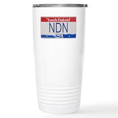 South Dakota NDN Pride Stainless Steel Travel Mug