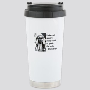 Truth Quote Stainless Steel Travel Mug