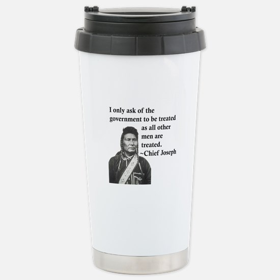 Equality Stainless Steel Travel Mug