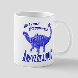 Blue Ankylosaurus Mug
