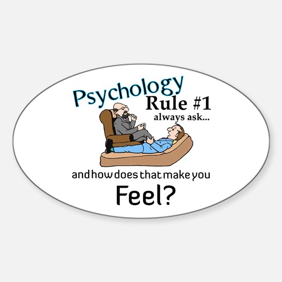 Therapy Oval Decal