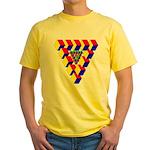 KUBEZ Yellow T-Shirt