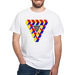 KUBEZ White T-Shirt