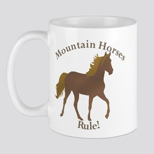 Mountain Horses Rule! Mug
