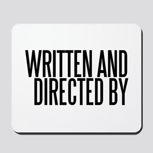 Screenwriter / Director Mousepad