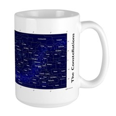Chart Of The Constellations 15 Oz Mugs