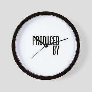 Film Producer Wall Clock