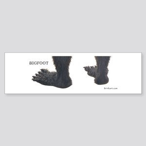 BIGFOOT ~ One Bumper Sticker