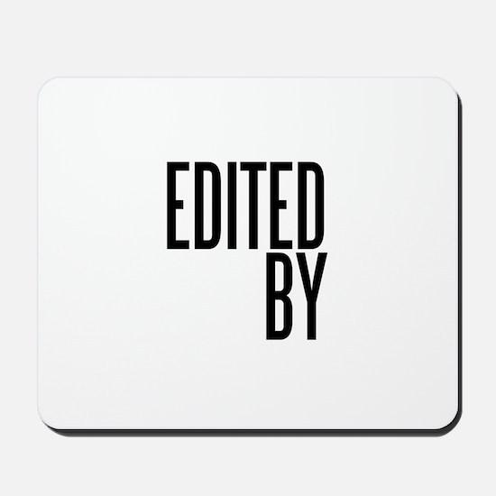 Film & Video Editor Mousepad