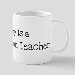 My Daddy is a Sex Education T Mug
