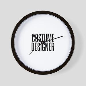 Costume Designer Wall Clock