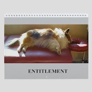 Entitlement Wall Calendar