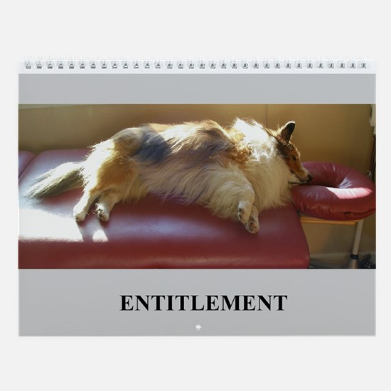 Entitlement Wall Calendar