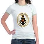 USS JOHN RODGERS Jr. Ringer T-Shirt