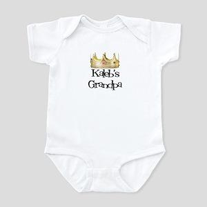 Kaleb's Grandpa Infant Bodysuit