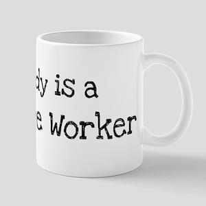 My Daddy is a Longshore Worke Mug