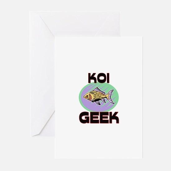 Koi Geek Greeting Cards (Pk of 10)
