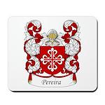 Pereira Family Crest Mousepad