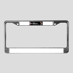 That One/Mr. President License Plate Frame