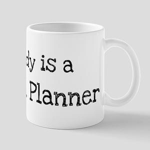 My Daddy is a Financial Plann Mug