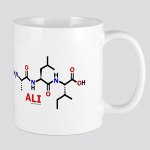Ali name molecule Mug