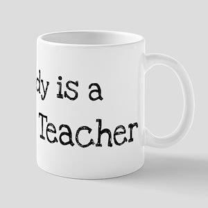 My Daddy is a Darwism Teacher Mug