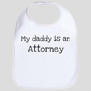 My Daddy is a Attorney Bib