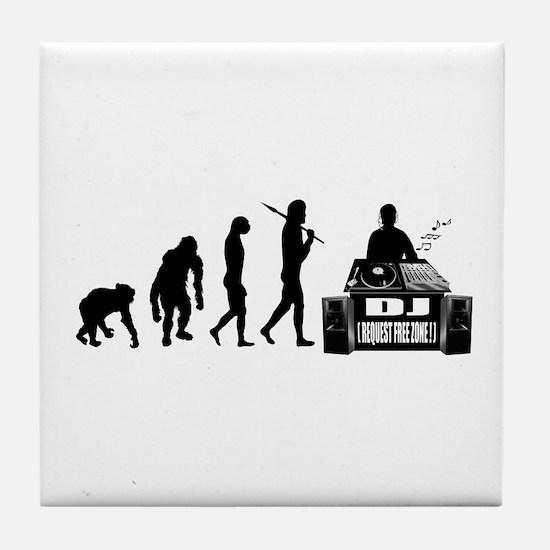 DJ Evolution Tile Coaster