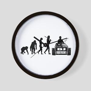 DJ Evolution Wall Clock