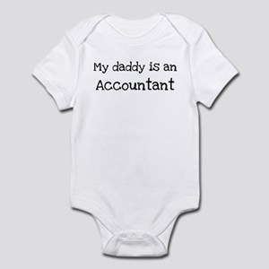 My Daddy is a Accountant Infant Bodysuit