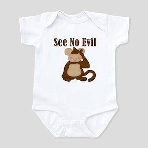 See No Evil Infant Bodysuit