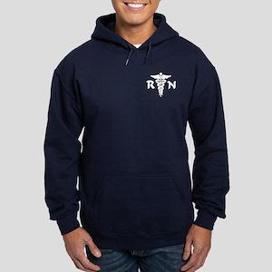 RN Medical Symbol Hoodie (dark)
