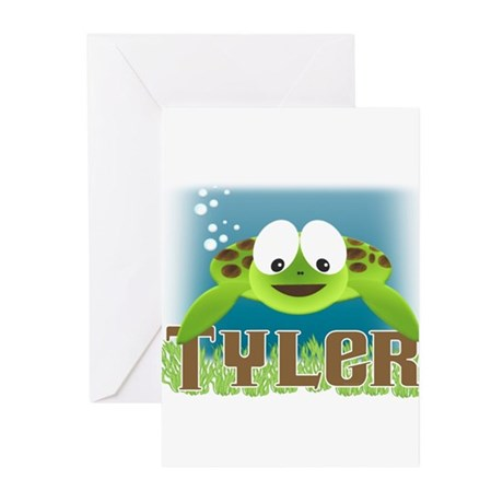 Adorable Tyler Turtle Greeting Cards (Pk of 10)
