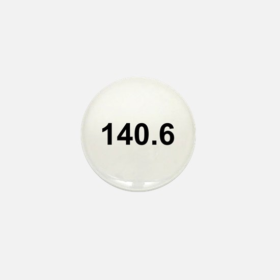 140.6 (Ironman Triathlon) Mini Button