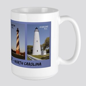 Obx Lighthouses - Large Mug Mugs