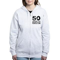 50th Birthday Zip Hoodie