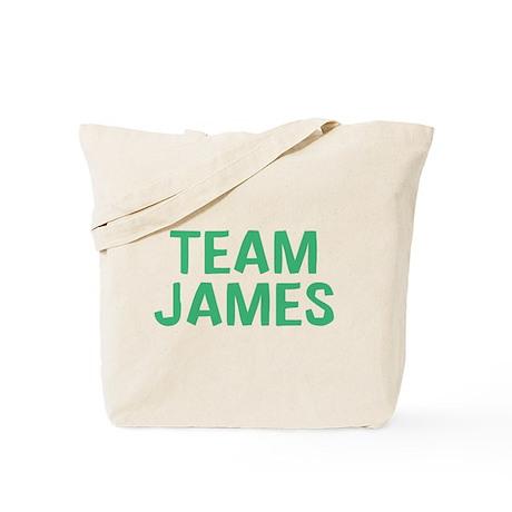 Team James(Green) Tote Bag