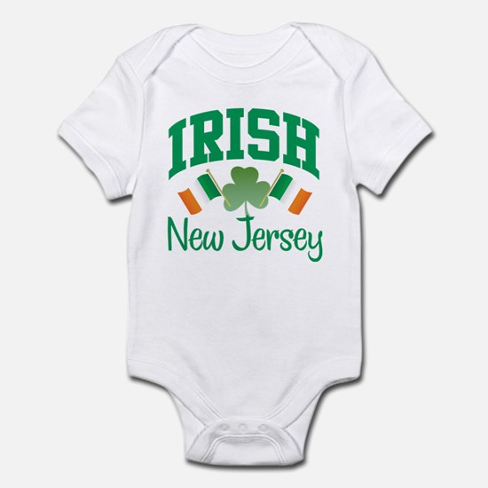 IRISH NEW JERSEY Infant Bodysuit