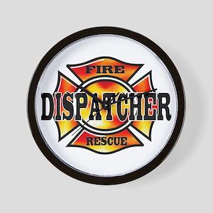 Fire Dispatcher Wall Clock