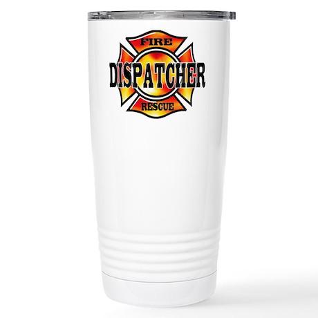 Fire Dispatcher Stainless Steel Travel Mug