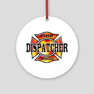 Fire Dispatcher Ornament (Round)