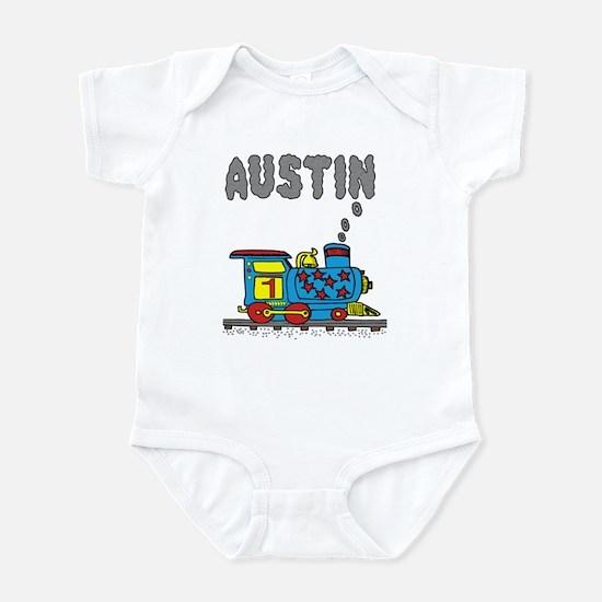 Train with Austin in Smoke Infant Bodysuit