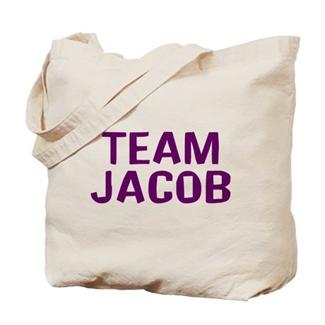 Team Jacob(Dark Purple) Tote Bag