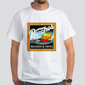 Peaches Records & Tapes White T-Shirt