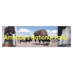 America's National Parks Bumper Sticker (50 pk)