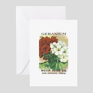 Geranium Greeting Cards (Pk of 10)