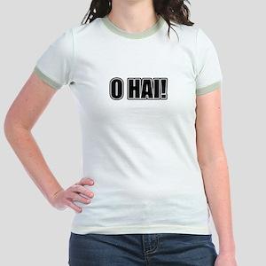 O HAI! KTHXBAI! Jr. Ringer T-Shirt